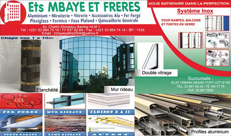 Ets Mbaye Et Freres Africa Phone Books