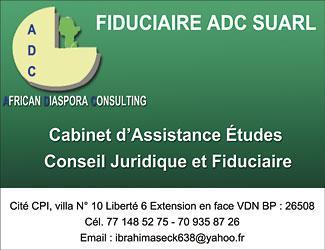 Cabinet Assistance Etude Conseil Juridique Et Fiduciaire Senegal