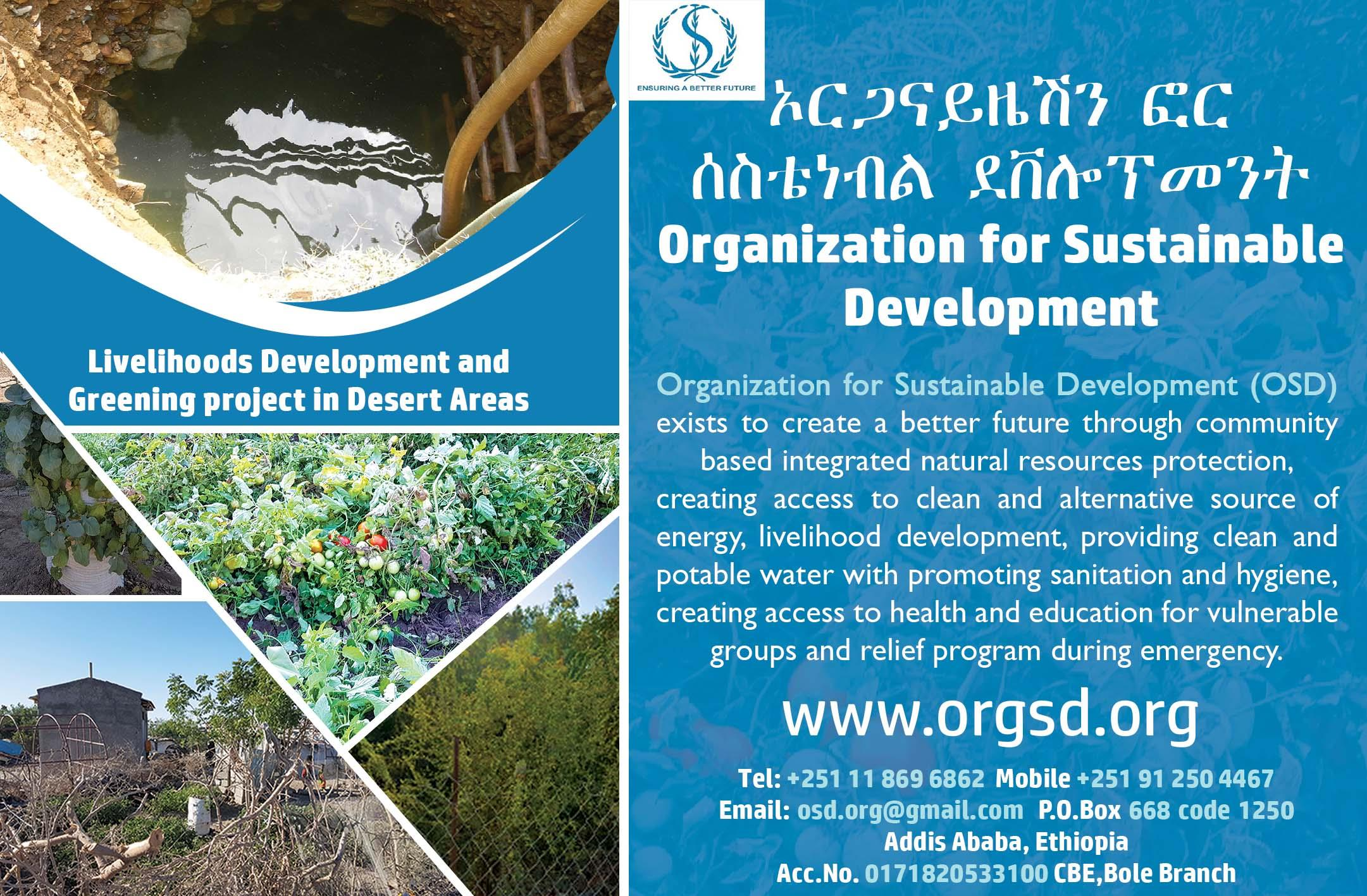 Organization for Sustainable Development (OSD)