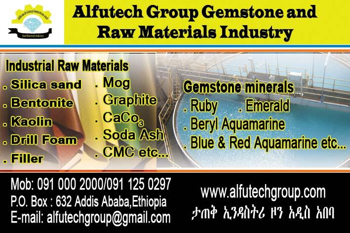 Alfutech Group Gemstone and Raw Materials Industry