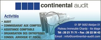 CONTINENTAL AUDIT