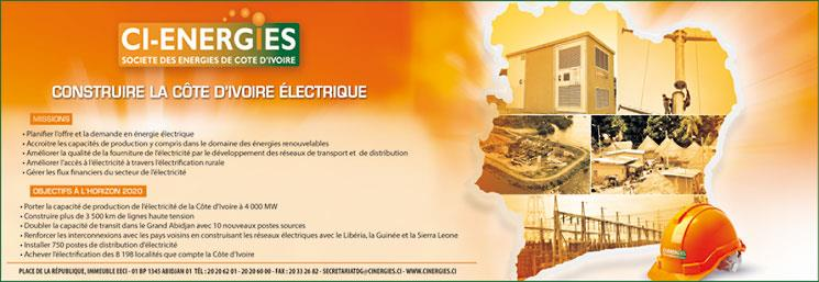 CI-ENERGIES (SOCIETE DES ENERGIES DE COTE D'IVOIRE)