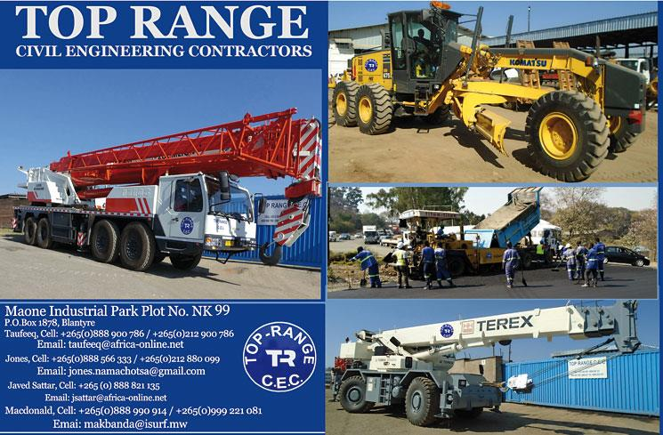 TOP RANGE CIVIL ENGINEERING CONTRACTORS