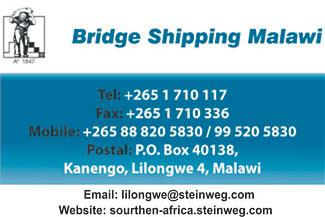 BRIDGE SHIPPING MALAWI