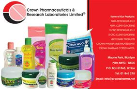 CROWN PHARMACEUTICAL AND RESEARCH LABORATORIES LIMITED