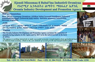 Oromia Industry Development and Promotion Agency