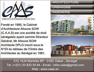 CABINET D'ARCHITECTURE ALIOUNE SOW - CAAS