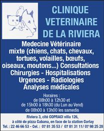 CLINIQUE VETERINAIRE DE LA RIVIERA