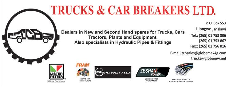 TRUCKS AND CAR BREAKERS LTD.