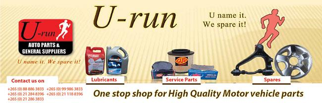 U-RUN AUTO PARTS & GENERAL SUPPLIERS