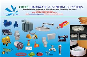 CRECK HARDWARE & GENERAL SUPPLIERS