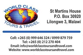 WORLD CLASS TOURS AND TRAVEL