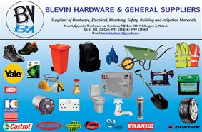 BLEVIN HARDWARE AND GENERAL SUPPLIERS