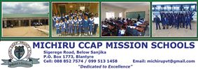 MICHIRU CCAP MISSION SCHOOL