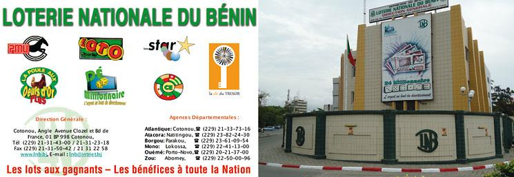 LOTERIE NATIONALE DU BÉNIN