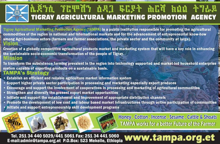 Tigray Agricultural Marketing Promotion Agency