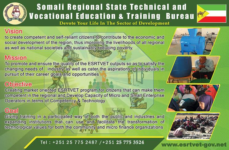 Somali Regional state Technical and Vocational Education & Training Bureau