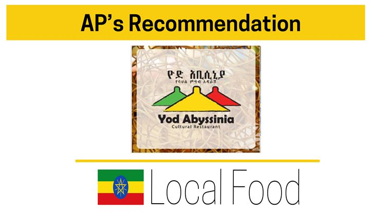 Local Food: Our Recommendation