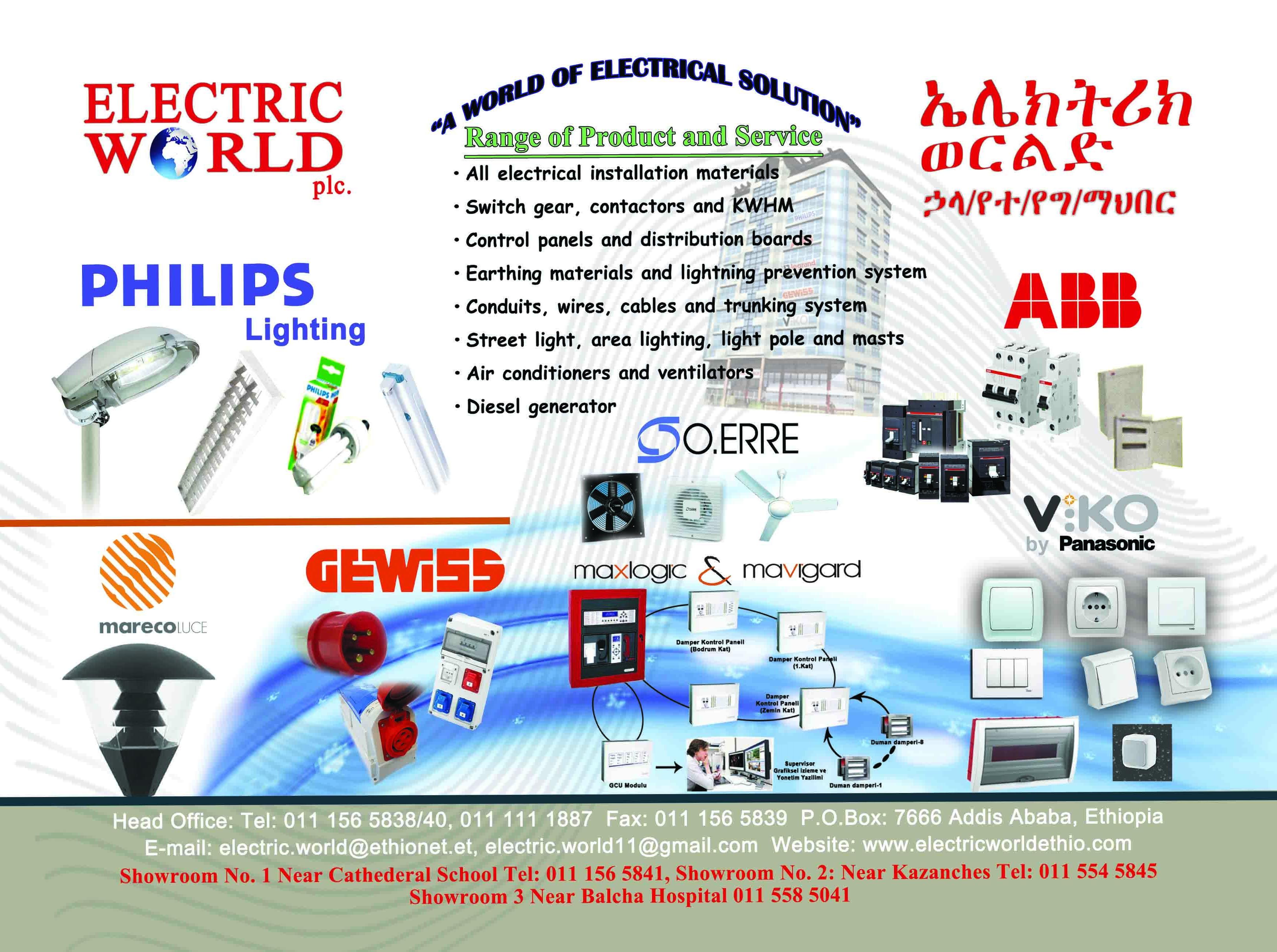 Electric World PLC
